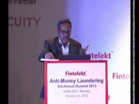 G Jaganmohan Rao, PCGM, Reserve Bank of India, Special Address, Part Two, Fintelekt AML Summit 2013