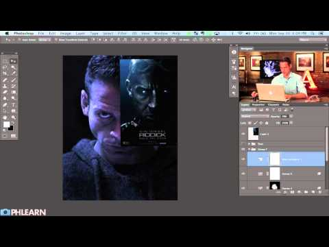 tutorial: Creating a Movie Poster in Photoshop:  Riddick - Part 1