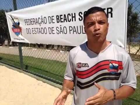 Benjamin ressalta a importância do apoio ao Beach Soccer