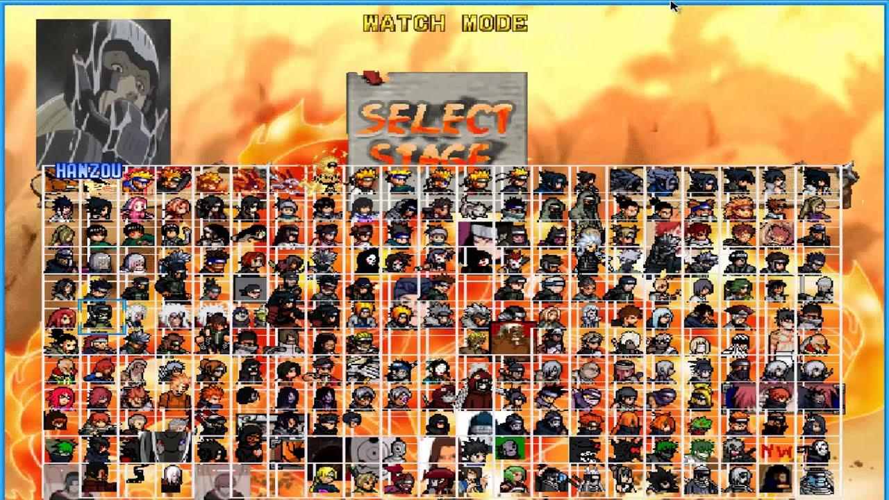 Naruto mugen 2016 storm 4 v13 - c13