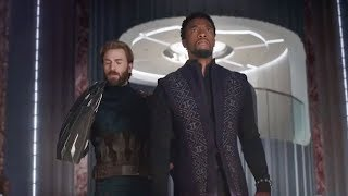 Wakanda Gifts Two Shields To Captain America | Steve Rogers | Black Panther