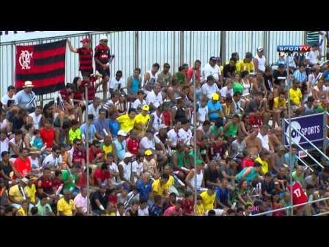 Em uma partida bastante equilibrada na Praia de Camburi, em Vitória, no Espírito Santo, paraguaios vencem a segunda no torneio e confirmam favoritismo