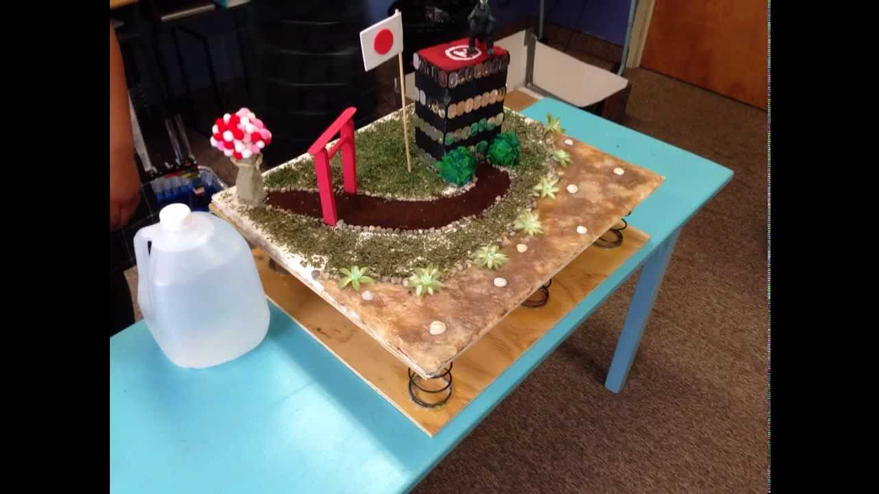 Project Based Learning Earthquake Resistant Structure