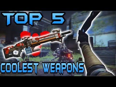 Destiny : Top 5 Coolest Guns / Weapons (Destiny Gamplay)