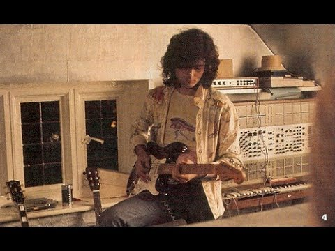 Jimmy Page - Led Zeppelin - Ten Years Gone - Practice/Demo Tape GREAT!