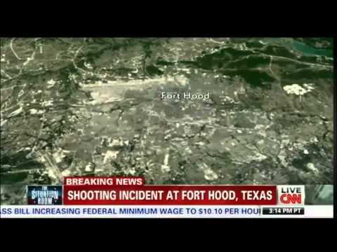 Fort Hood Shooting Lockdown, 4 Dead 16 Injured