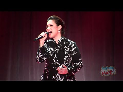 "Lea Salonga (voice of Mulan) performs ""Reflection"" at the 2011 D23 Expo"