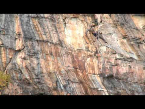 Chris Sharma en Proper Soul Onsight 5.14a /8b+