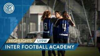 HIGHLIGHTS INTER WOMEN PRIMAVERA: A 10-0 WIN!   Inter Football Academy