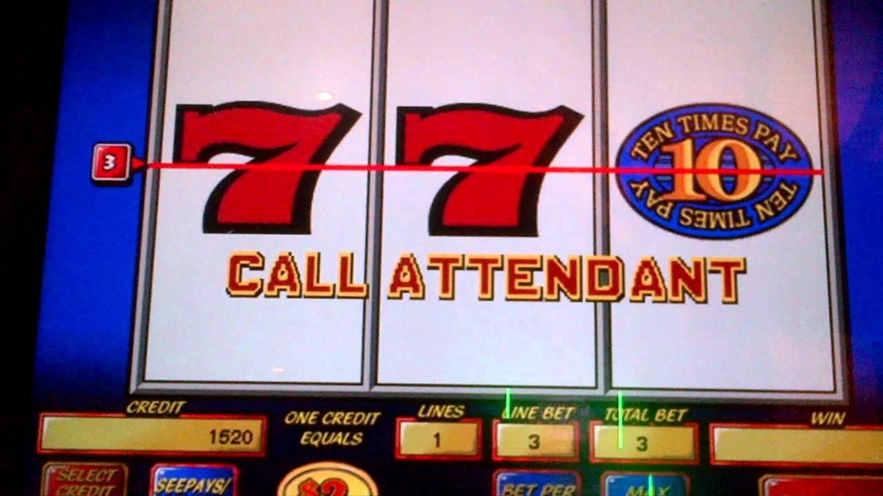 ten times pay slot machine videos