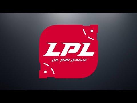 RW vs. TOP - JDG vs. LGD | Week 1 Day 3 | LPL Spring (2018)