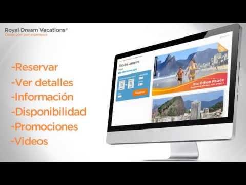 Activa tu cuenta Royal Holiday Dream Vacations, video tutorial