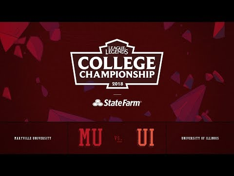 Illinois vs Maryville | QuarterFinals Game 1 | 2018 College Championship | UI vs MU