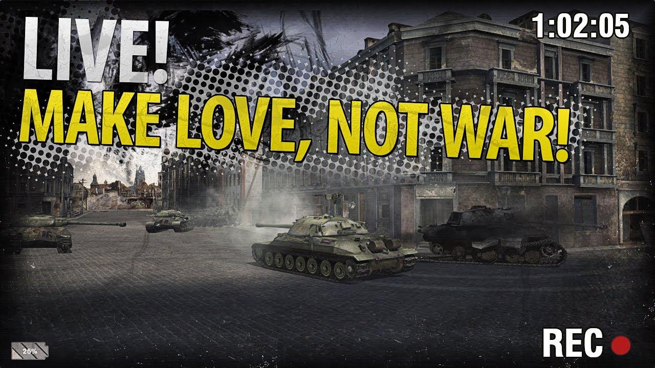 Взводная игра с Vspishka и Pastor. Make Love, Not War!