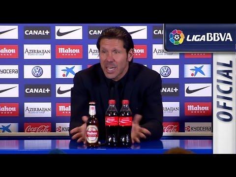Rueda de Prensa de Simeone tras el Atlético de Madrid (3-0) Valencia CF - HD