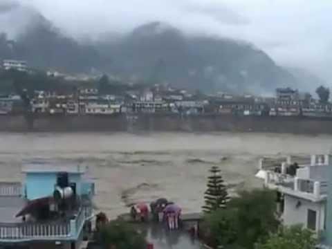 Uttarakhand floods disaster video