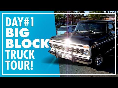 1974 Ford f100. Ranger XLT HOT ROD.... - YouTube