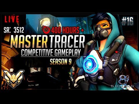 Overwatch Season 9: Tracer Main Competitive Gameplay Live! #16