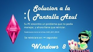 Tutorial: Solución Pantalla Azul Y Negra En WINDOWS 8