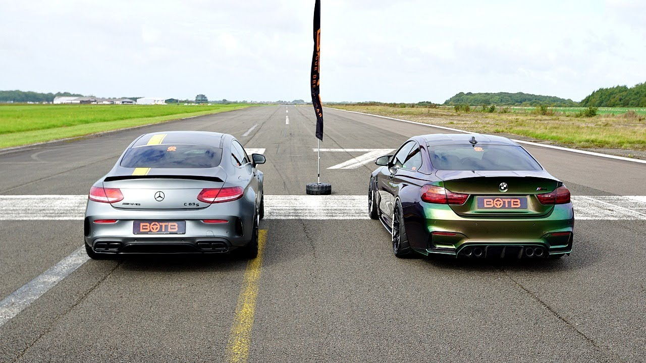 Bmw And Mercedes Race