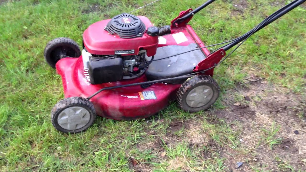 Craftsman Self Propelled 3to1 Mower 917 377791 With