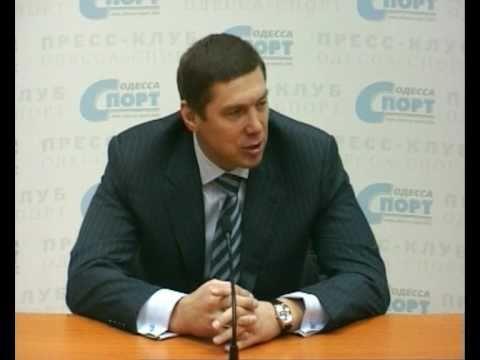 """Гость пресс-клуба """"Одесса-Спорт"""" Владислав Булгаков"""