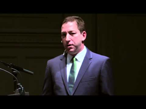 Glenn Greenwald in Seattle June 14, 2014