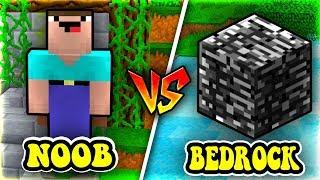 THỬ THÁCH THỬ THÁCH Troll NOOB Bằng BEDROCK (Đá Nền) Trong Minecraft!!