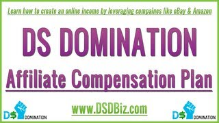 DS Domination - Affiliate Compensation Plan - How to Create Residual Income with DS Domination