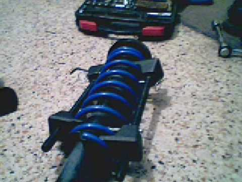 How to: Disassemble/re-assemble a strut and test if it's good.