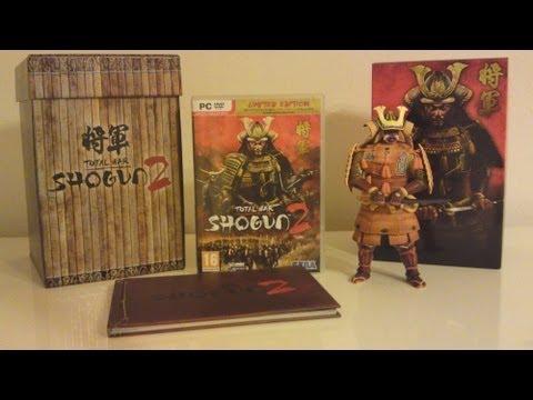Обзор Западного Коллекционного Издания Total War Shogun 2 - Collectors Edition