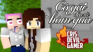 CrisDevilGamer COVER CÔ GÁI ĐẾN TỪ HÔM QUA | Phiên bản hoạt hình Minecraft