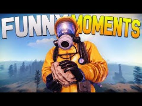 The Rock Man - Rust funny Moments #RustFunnyMoments #Evade