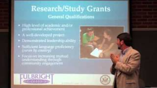 Fullbright United States Student Program workshop - November 18, 2010