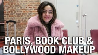 PARIS, BOOK SIGNING, BOLLYWOOD MAKEUP & PUPPY IVY 🐶💚