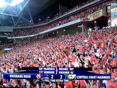 A-league Brisbane Roar Vs Central Coast Mariners Grand Final 2011