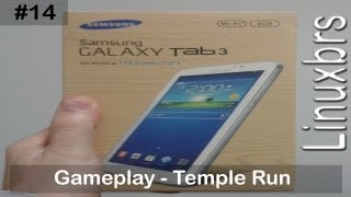 Gameplay Android Temple Run Samsung Galaxy Tab 3 SM