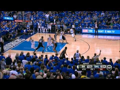 San Antonio Spurs vs Dallas Mavericks Game 3 Fourth Quarter Highlights Vinsanity!