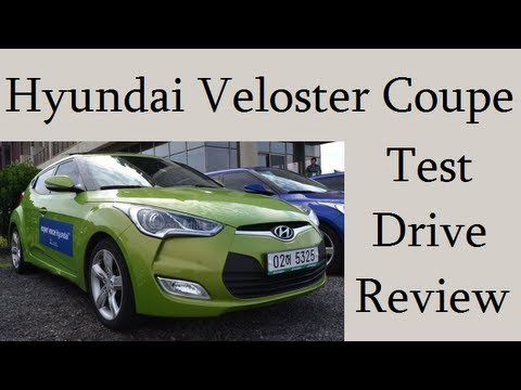 Hyundai Veloster Coupe Test Drive Features, Specifications And Review