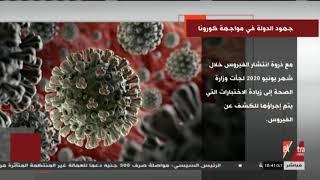 جهود الدولة في مواجهة فيروس كورونا