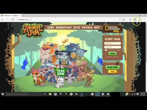 How to change your animal jam username and password
