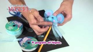 Como hacer un lápiz con elefantito