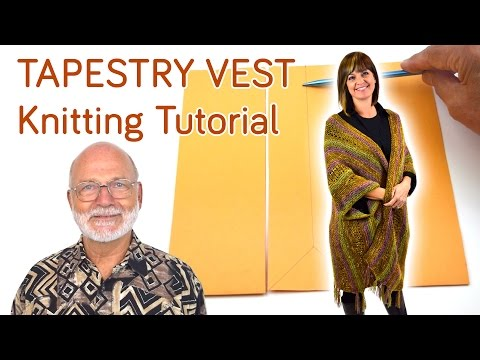 Tapestry Vest - Knitting Tutorial