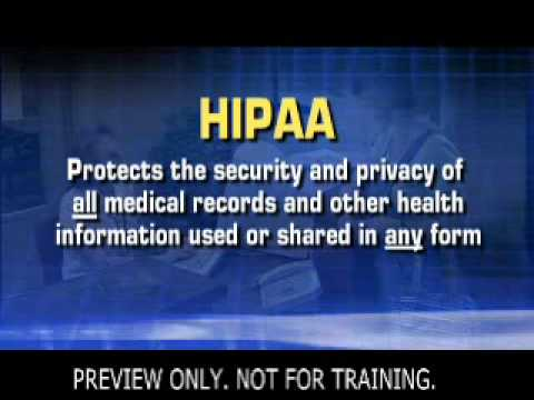 Privacy &amp; Security: The New HIPAA Rule
