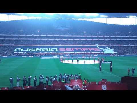 Homenagem a Eusébio no Benfica 2- 0 Porto