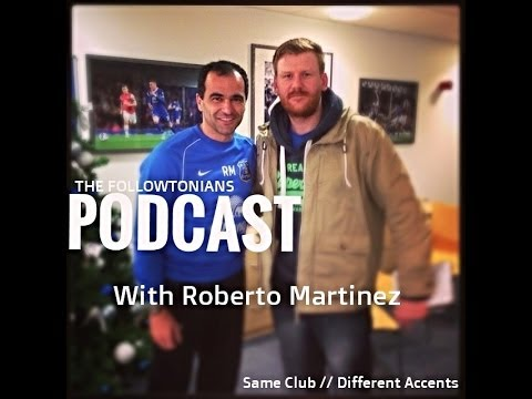 When Roberto Martinez met the Followtonians