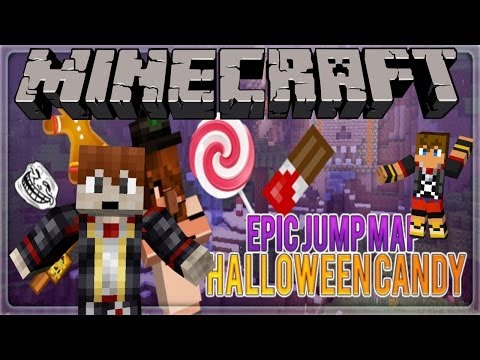 Minecraft: Epic Jump Map - Halloween Candy Finale!