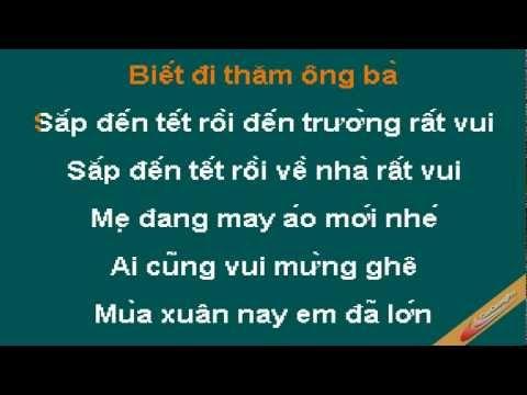 Sap Den Tet Roi Karaoke - CaoCuongPro