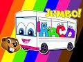 Wheels On The Bus Collection | Jumbo Version | Kindergarten Rhymes | Little Baby Songs | Kids Video