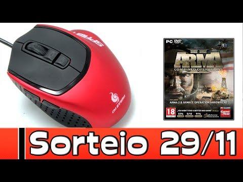 Sorteio do Mouse Gamer + ARMA 2 Combined Operations [Steam] / ocloja.com.br